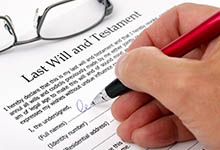 Wills Attorney in Massachusetts & NH